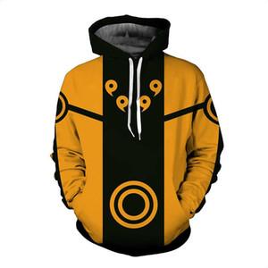 2018 hoodies sweat-shirt figure d'action Akatsuki femmes / homme / enfants avec capuche anime japonais sasuke hoodies 3d