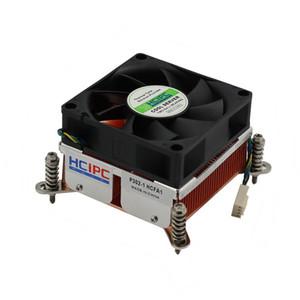 70 * 70 * 20MM ventilateur P302-1 HCFA1, LGA2011 haute qualité 4Pin double roulement à billes cuivre 2U + serveur CPU refroidisseur 12V ~ 0.4A