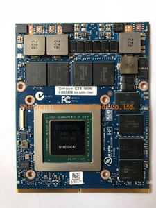 Бесплатная DHL Оригинал GTX980M GTX 980M Графическая Карта GPU N16E-GX-A1 8 ГБ GDDR5 Для Alienware Clevo GTX980 Видеокарта Замена GPU