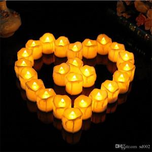 Светодиодные Буги праздник партии декоративные электронные свечи для творческих искусств и ремесел день рождения украшения подарки 1 7rx ZZ