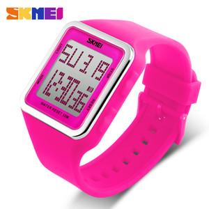 SKMEI Esportes Ao Ar Livre Relógio de Pulso Das Mulheres Dos Homens Das Crianças Digital LED Cronômetro Cronômetro Resistente À Água para Crianças Presente 1139
