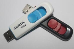 2018 лучшие продажи ADATA C008 64 ГБ 128 ГБ 256 ГБ USB 2.0 флэш-памяти ручка привода палочки флешки флешки с бесплатной доставкой