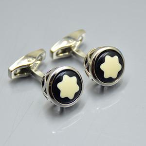 Yüksek kalite gümüş-Altın-Gül Altın moda Erkekler için gömlek kol düğmeleri klasik Bakır Marka Manşet bağlantılar düğün Hediye A8