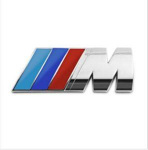 Fashion Car Sticker Emblem Badge 3D Metal Decal For BMW M Power Performance 3 4 5 6 7 E Z X M3 M5 M6 E46 E30 E34 Car Styling Accessories