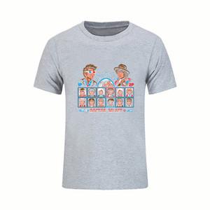 Para venda Hip Hop Médico Fighter Doctor Who Dr Who Mens T Camisas de Manga Curta Tee Algodão Camiseta Slogans Homme Plus Size Vestuário