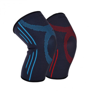 1 PCs Sport Médical Tricoté Patella Manches De Soutien Volleyball Basketball Knee Protector Pad Élastique Jambe Manches Bandage Wrap Ceinture