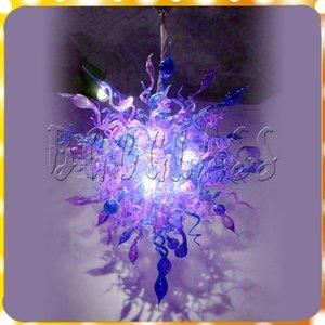 Transparente heißer Verkauf Borosilikat ausgezeichnete Spiral Drop Kristall Kronleuchter Glas Lighti Chihully 100% mundgeblasenem Glas zeigen