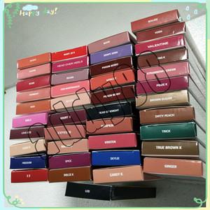 El kit más nuevo de KL Lip Kit de maquillaje líquido para labios Lápiz labial + delineador de labios Lip Gloss 41 colores Lip Gloss Kit Free Ship