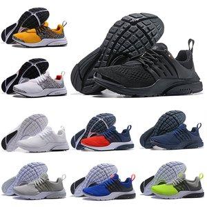 Nike air presto Envío de la gota Nuevo PRESTO 5 BR QS Zapatos para correr Breathe Safari Pack Negro Blanco Azul Amarillo Rojo Hombres Mujeres Deportes Diseñador Zapatos Zapatillas
