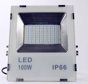 Luz de inundación del LED, 100W (500W halógeno Equiv), luces de trabajo al aire libre impermeables IP65, 6500K luz blanca, proyector al aire libre para garaje, jardín