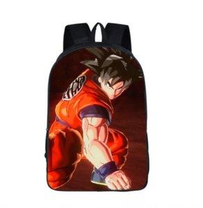 Dragonball Için süper Moda Sırt Çantası Çocuk Okul Çantaları Erkek Kız Genç Bagpack Okul Kadın Erkek Eğlence çantası SB26