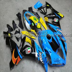 23 couleurs 5Gifts Set de carrosserie en plastique ABS YZFR1 2004 2005 2006 Kits de carénage complets pour yamaha YZF-R1 2004 2005 2006 Panneaux de moteur ABS