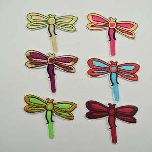 120pcs Dragonfly ricamo ferro sulle zone Applique per cucire del mestiere di DIY