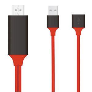 Универсальный 1080P HD HDMI HDTV AV зарядка кабель-адаптер Plug Play видео USB к HDMI кабель для типа C Android iOS iPhone
