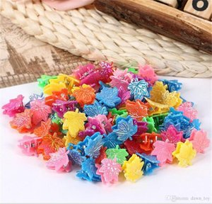 Children Jewelry 50Pcs Lot Baby Accessories Kids Hairpins Girls Hair Clips Lovely Resin Flower Hairpin Butterfly Bobby Pins