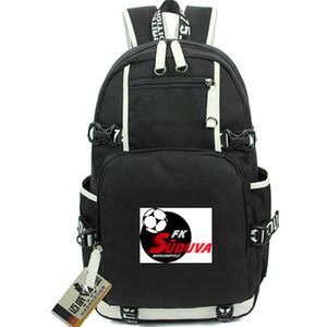 Suduva daypack Marijampole FK sırt çantası Iyi futbol kulübü sırt çantası Futbol schoolbag Bilgisayar sırt çantası Spor okul çantası Açık gün paketi