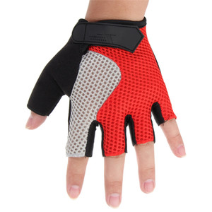 Guanti Nuovo Ciclismo Motociclismo Mountain Road Bike antiurto Sport Half Finger Riding Bicycle fitness guanto M-XL