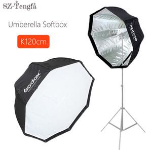 "Atacado 120 cm 48 ""Umbrella Octagon Softbox guarda-chuva de luz Macia Estúdio de Flash Refletor Softbox Para estúdio Flash Speedlite"