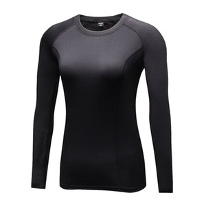 Mode Fast Dry Femmes Compression Base Couche Tee Tee Manches Longues T Shirt X01