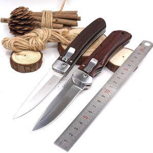 Rapide Ouvert Couteau De Poche Pliant Camping Chasse Couteau Multi Outil 7CR18MOV En Acier Tactique Couteaux De Survie Avec Veste En Nylon