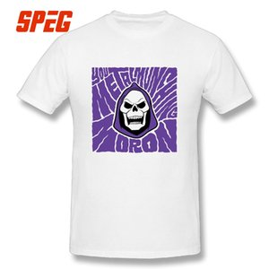 Masters of the Universe T Shirts The Skeletor Unique Crew Neck Tee Shirt 100% Cotton Mens T-Shirts Seamless Short Sleeves