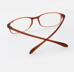 Zufällige Farbe Frauen Lesebrille Männer Ultraleichte Material Brille Brillen gläser 1,5 2,0 2,5 3,0 3,5 4,0