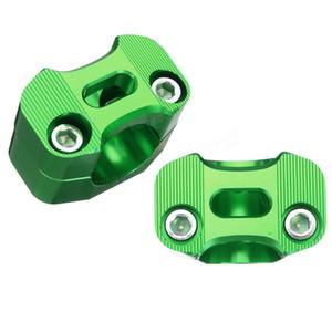 7/8 de polegada para 1 1/8 polegadas 22mm-28mm Guiador Fat Risers Adaptador de Montagem Da Braçadeira para a Sujeira Pit Bike ATV