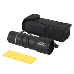 Mini 16x40 Telescopio de Enfoque Monocular de Alcance Ajustable Largo Camping Senderismo Camping Visión Termal Monocular protable