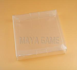 Прозрачный прозрачный для Gameboy Advanve Color Game Cartridge Защитный чехол CIB для игр пластиковый ПЭТ для GBA GBC