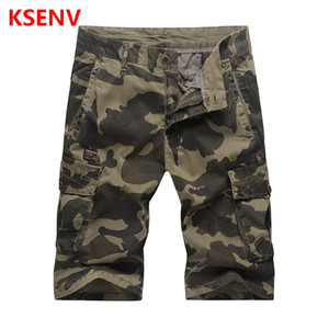 Shorts Men Cool Camouflage Summer Hot Sale Cotton Casual Men Short Pants Male Clothing Comfortable Camo Knee Length Shorts
