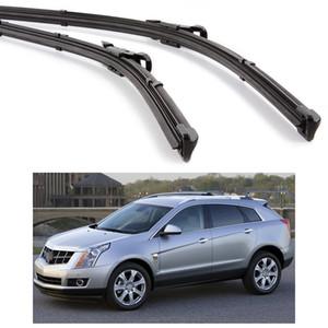 """Yeni 2 Adet 26 """"16"""" Araba Ön Cam Silecek Bıçak Bracketless Cadillac SRX 2010-2015 11 12 13 14 için Fit"""