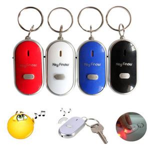 2018 новый светодиодный свисток Key Finder мигающий звуковой сигнал дистанционного потерянный Keyfinder Locator брелок для Бесплатная доставка