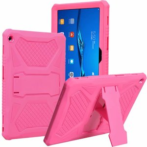 Silicone Case Hard PC Shockproof Heavy Duty Armor Back Cover for Huawei MediaPad T3 10 AGS-L09 AGS-L03 Honor Play Pad 2 9.6 inch 30pcs