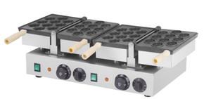 Frete grátis ! placa de duas noz em forma de máquina de máquina de waffle
