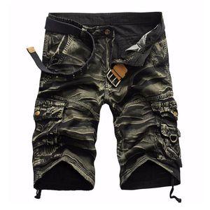 HaiFux Shorts Hombre 2018 Marca Moda Hombre Bermudas Short Hombre Homme Cargo Shorts
