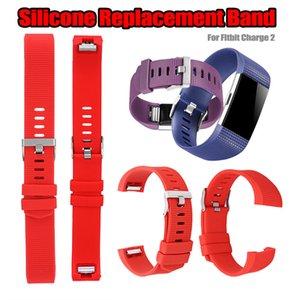 Para Fitbit Carga 2 inteligente pulseira pulseira Wearable a correia de silicone substituição da faixa para Fitbit Carga 2