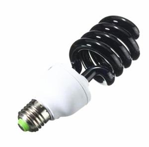 E27 30W 40W UV Ampoule ultraviolette Lumière noire Ampoule spirale fluorescente à économie d'énergie de lumière AC220V