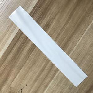 4 * 25,5 * 30cm langer Slip 3-Lagen-Perle, offener, offener, weißer OPP-Beutel / durchsichtiges Bracklet und Stift-Display-Paketbeutel