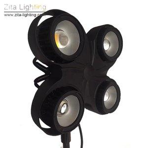 Zita Beleuchtung Neue LED 4EYE Blinder 4x100W COB Außen Publikum Lichter Wasserdichte 2IN1 DMX512 DJ-Disco-Theater Event Stadiums-Lichteffekt