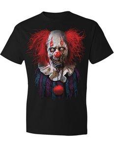 새 Nwt Horrific 좀비 Clown T- 셔츠 할로윈 좋아하는 구울 Goblins Large 여름 반팔 패션 T 셔츠