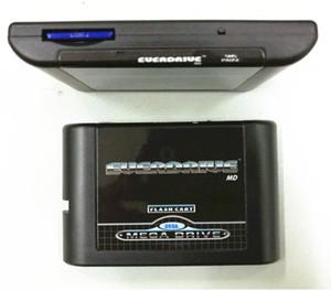 Japon ABD ve Avrupa SEGA GENESIS MegaDrive (MD) Konsolu için EDMD Oyun Kartuş