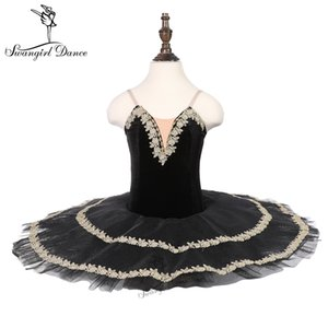 children black swan lake performance tutu stage costume ballerina girls ballet costume dance tutu 18085