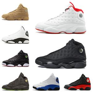 13s мужская баскетбольная обувь история полета он получил игру Phantom черный кот разводили гипер Италия синий 13 мужчины спортивная обувь кроссовки