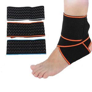 Support de sangle de sécurité pour la cheville, support de basket-ball en nylon élastique, protège-cheville de fitness avec chaussettes en silicone antidérapantes taille unique