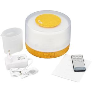 Umidificatore ultrasonico telecomandato dell'aroma dell'aria 500ml con un diffusore elettrico dell'aroma dell'olio essenziale di aromaterapia di 7 luci del LED
