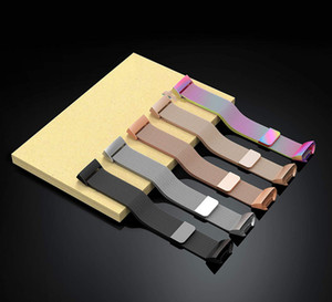 Correa magnética milanesa de bucle de acero inoxidable para Fitbit Charge 3 correa de pulsera de repuesto para Fitbit Charge 3 correa de reloj