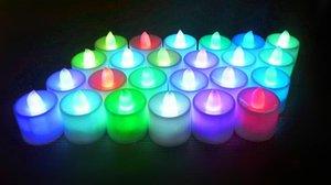 شمعة مصباح الإلكترونية الرصاص شمعة مصباح الإبداعية زفاف الشموع تخطيط الدعائم شمعة الإلكترونية مع 2 بطاريات زر AG10