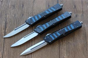 Vespa Otomatik Savaş bıçak ağzının D2 (S / E, D / E) Kulp: Alüminyum + TC4 + G10 Açık kamp sağkalım EDC araçları bıçaklar