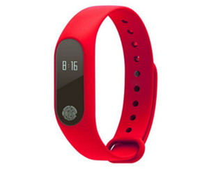 M2 Smart Armband Smart Uhr Herzfrequenzmesser Bluetooth Smartband Gesundheit Fitness Smart Band für Android iOS Aktivitätstracker DHL