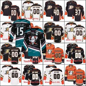 새로운 시즌 15 Ryan Getzlaf 39 Joseph Blandisi 39 Sam Carrick 7 Andrew Cogliano 77 Chase De Leo 39 Brian Gibbons 애너하임 오리 Hockey Jerseys